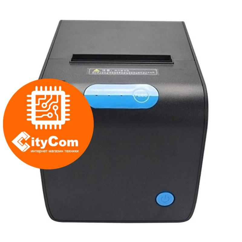 Принтер чеков Rongta RP328, 80mm POS термопринтер чековый для магазинов, бутиков, кафе и др.