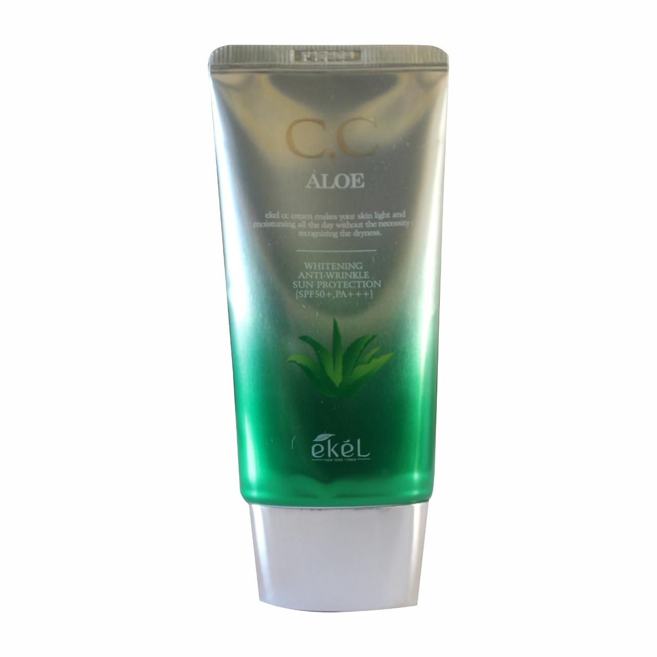 Ekel Aloe CC Cream SPF50+PA+++ CC Крем с Экстрактом Алоэ 50мл.