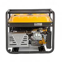 Генератор бензиновый PS 80 E-3, 6,6 кВт, 400В, 25л, электростартер// Denzel