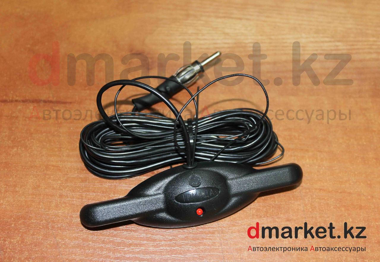 FM антенна 003-Mini, автомобильная, электронная, на лобовое