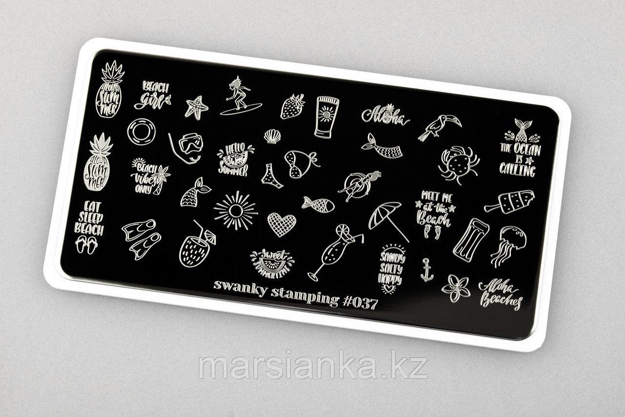 Пластина Swanky Stamping #37