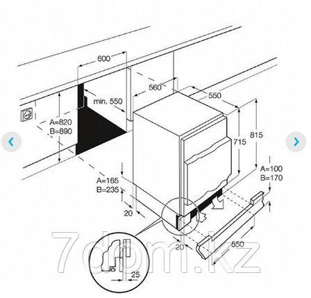 Встраиваемый холодильник Electrolux ERN 1200 FOW, фото 2