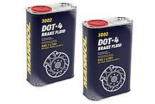 Тормозная жидкость MANNOL Brake Fluid DOT-4 1L.