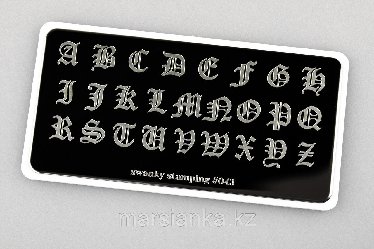 Пластина Swanky Stamping #43