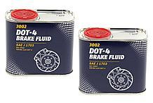 Тормозная жидкость MANNOL Brake Fluid DOT-4 0.5L.