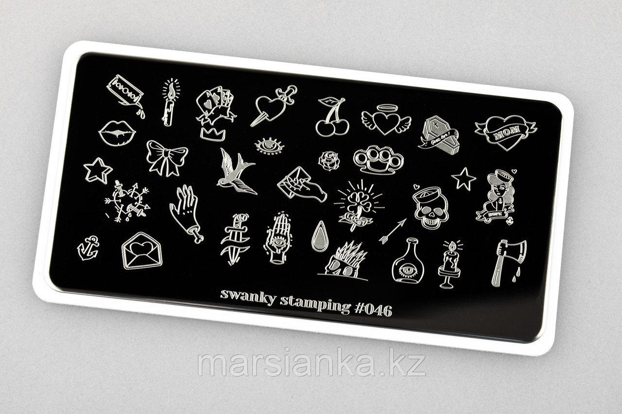 Пластина Swanky Stamping #46