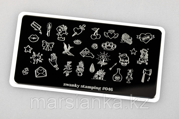 Пластина Swanky Stamping #46, фото 2