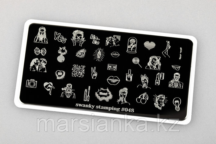 Пластина Swanky Stamping #48, фото 2