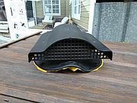 Вентиль Аэратор для металлочерепицы СуперМонтерей WPBN 150 Чёрный, фото 1