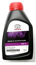 Жидкость тормозная TOYOTA DOT4  для Toyota, Lexus0.5L.