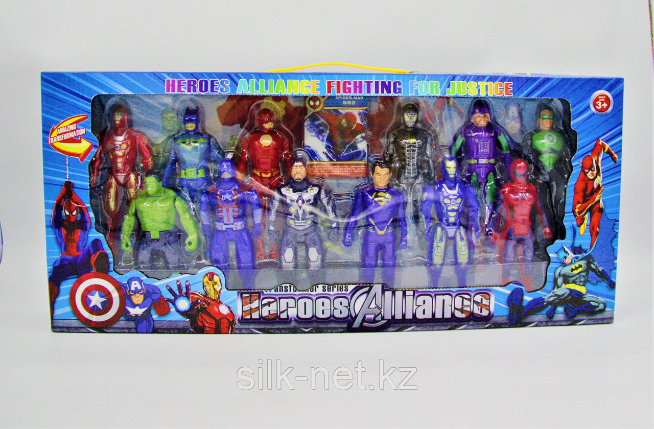 Игрушки супер герои