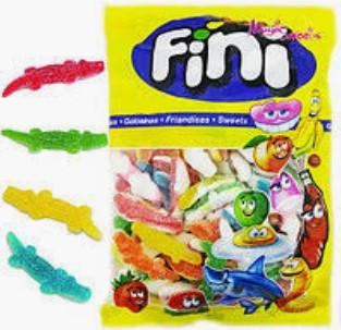 """Жев.мармелад """"Крокодильчики разноцветные в сахаре"""" 1кг  /FINI Испания/"""