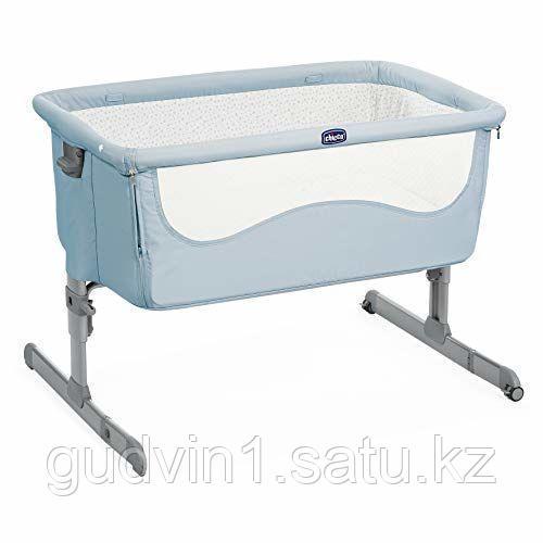 Chicco: Кроватка-манеж Next2Me Ocean 0м+ код: 1105189