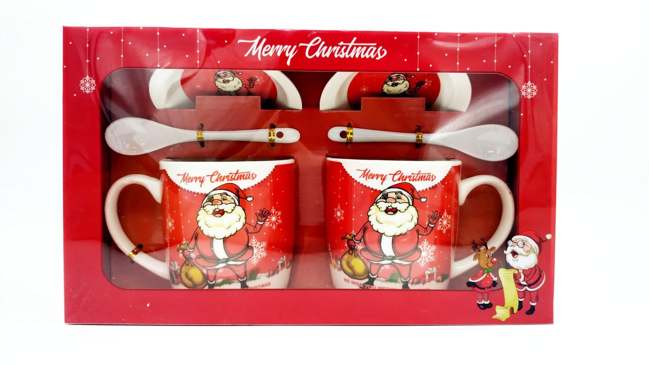 "Кружки парные ""Happy Christmas"""
