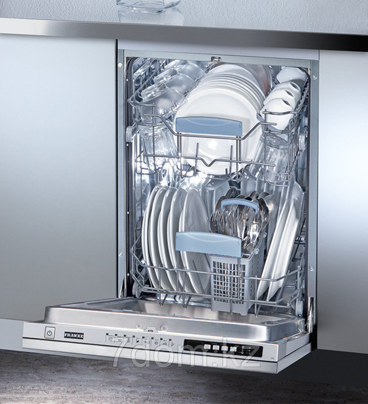 Встраиваемая посудомойка 45 см Franke FDW 410 E8P A+