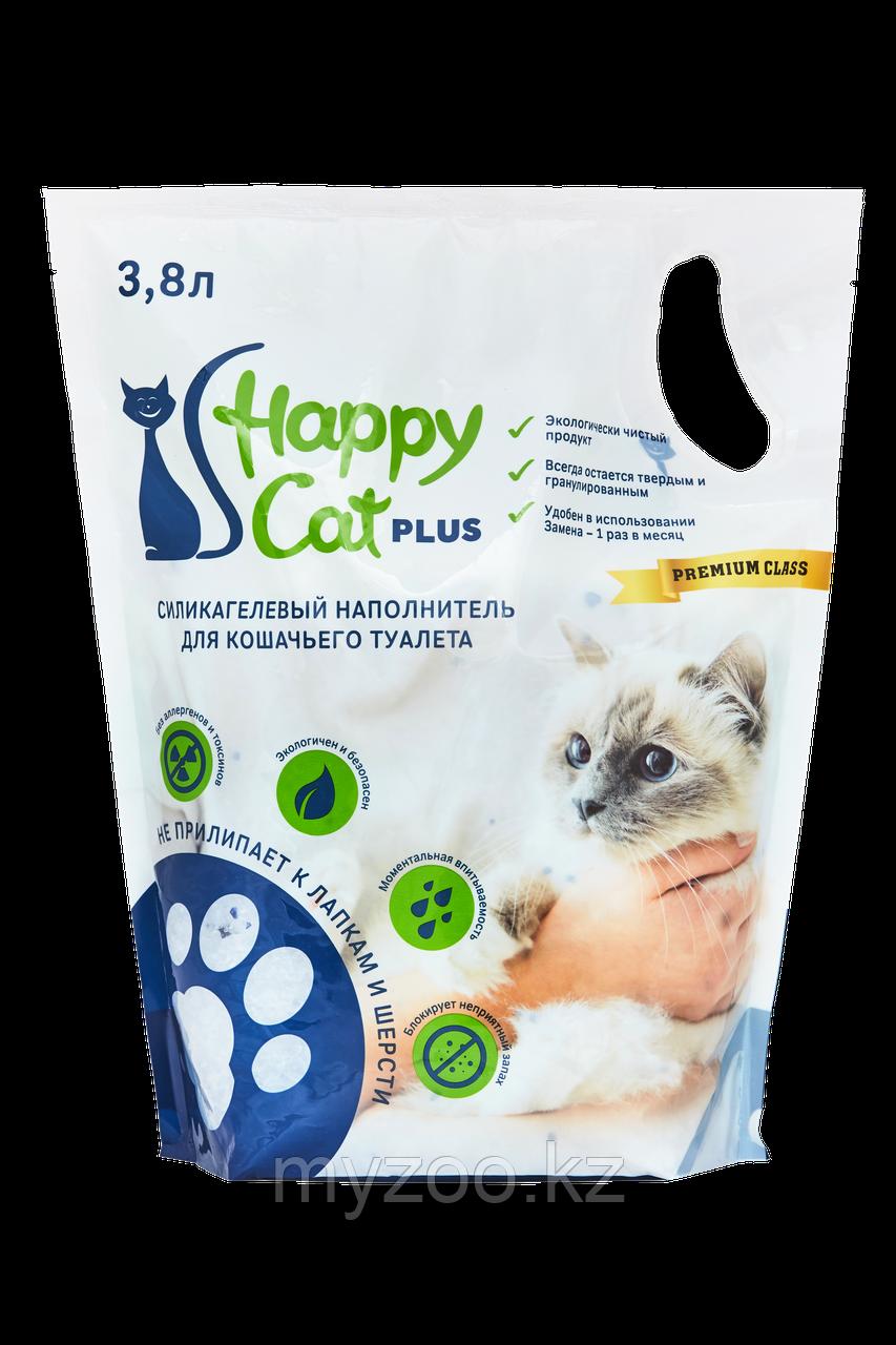 Наполнитель Happy cat (Хеппи Кэт) силикагель, 6,6л 3кг нейтрал без запаха