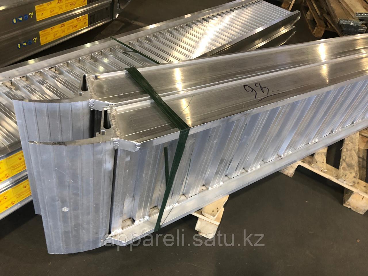 Сходни трапы аппарели из алюминия, производство