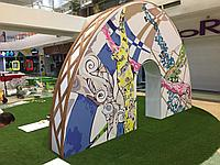 Декор арка из пенопласта