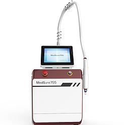 Аппарат от MBT   лазер для удаления татуировок  ND YAG 1064 Nd Yag 532 Q + ОБУЧЕНИЕ + СЕРТИФИКАТ