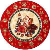 "Тарелка ""CHRISTMAS COLLECTION"" ДИАМЕТР=21 СМ ВЫСОТА=1,6 СМ (586-318)"