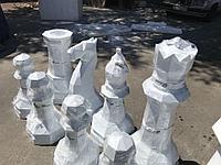 Шахматные фигуры из пенопласта на заказ