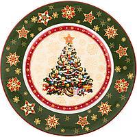 "Тарелка ""CHRISTMAS COLLECTION"" ДИАМЕТР=26 СМ ВЫСОТА=2,2 СМ (586-319)"