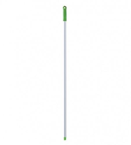 Ручка для держателя Мопов, 140 см, d=23,5 мм, анодированный алюминий, зеленый НОВИНКА