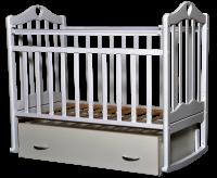 Кровать детская Каролина 4. белая, фото 1