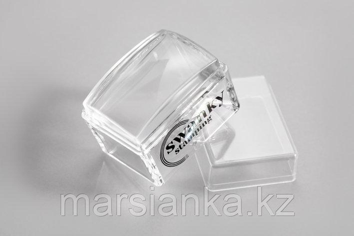 Штамп Swanky Stamping, прозрачный, силиконовый, прямоугольный, 2.5*3,5 см, фото 2