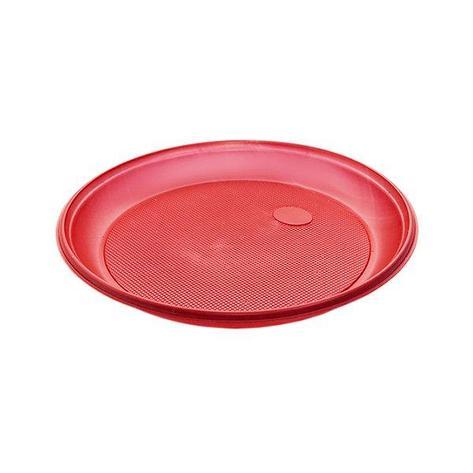 Тарелка d 205мм, красн., ПС, 12 шт, фото 2