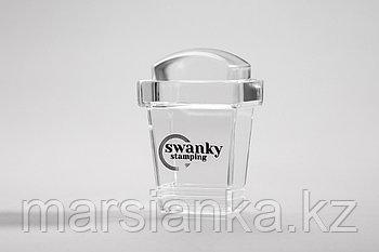 Штамп Swanky Stamping, силиконовый, прямоугольный, высокий 2*3 см