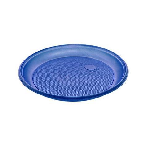 Тарелка d 205мм, син., ПС, 12 шт, фото 2