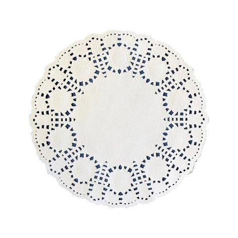 Салфетки д/серв., d 10см, бел., Бумага, фото 2