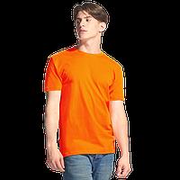 Однотонные футболки под нанесением логотипа без бокового шва, фото 1