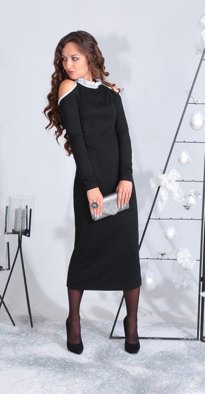 Платье ElPaiz-472, черный, 42