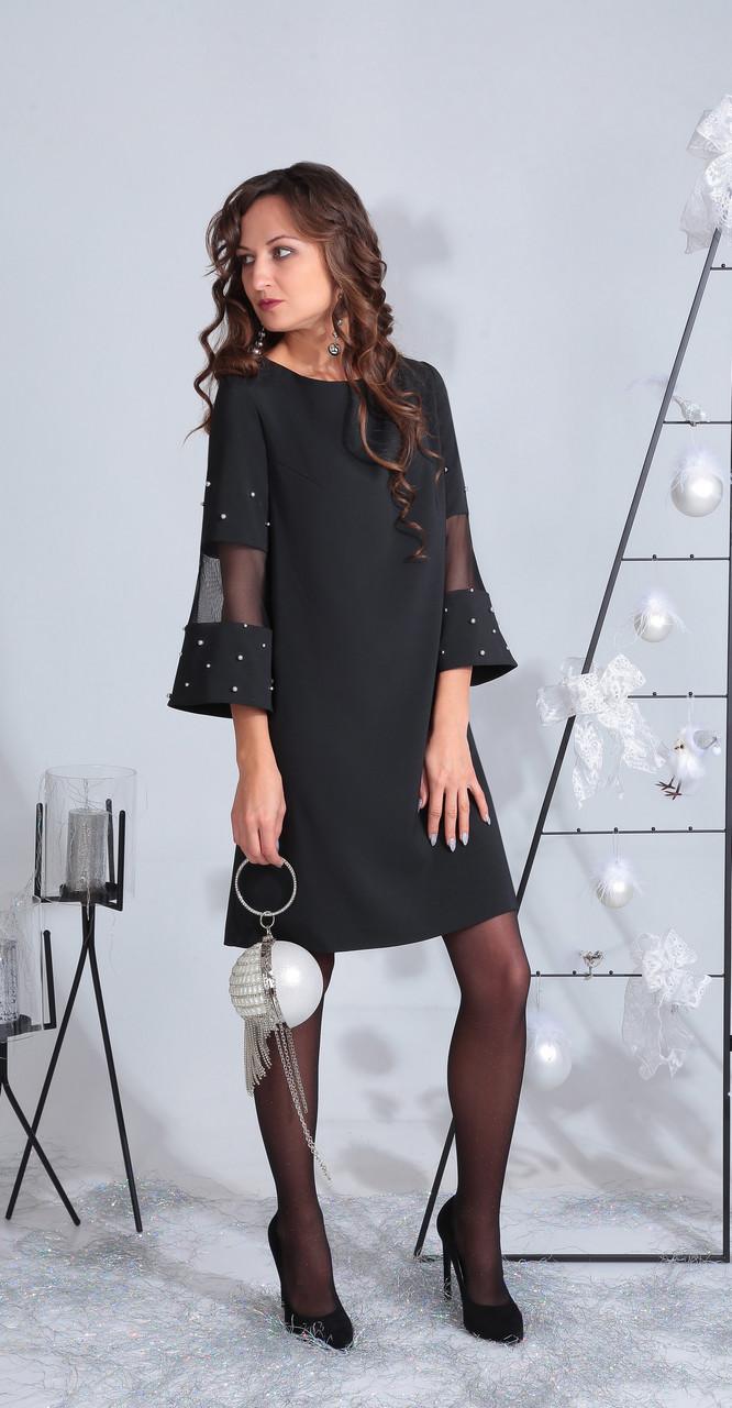 Платье ElPaiz-475, черный, 42
