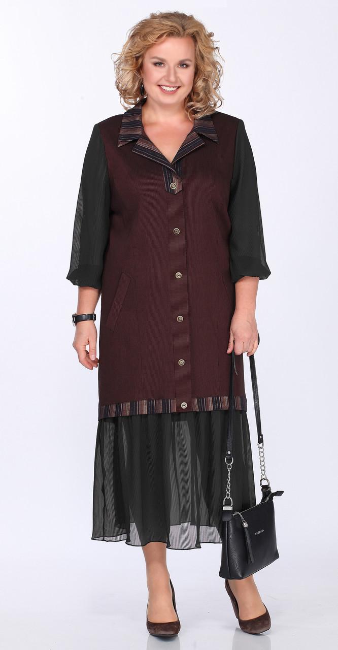 Платье Lady Secret-3605, черный, 54