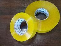 Упаковочный скотч прозрачный и желтый