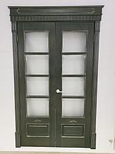 Межкомнатные двери массив ольха модель ОЛ44