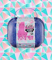 LOL Bigger Surprise Winter Disco Большой Синий Чемодан ЛОЛ 60 сюрпризов