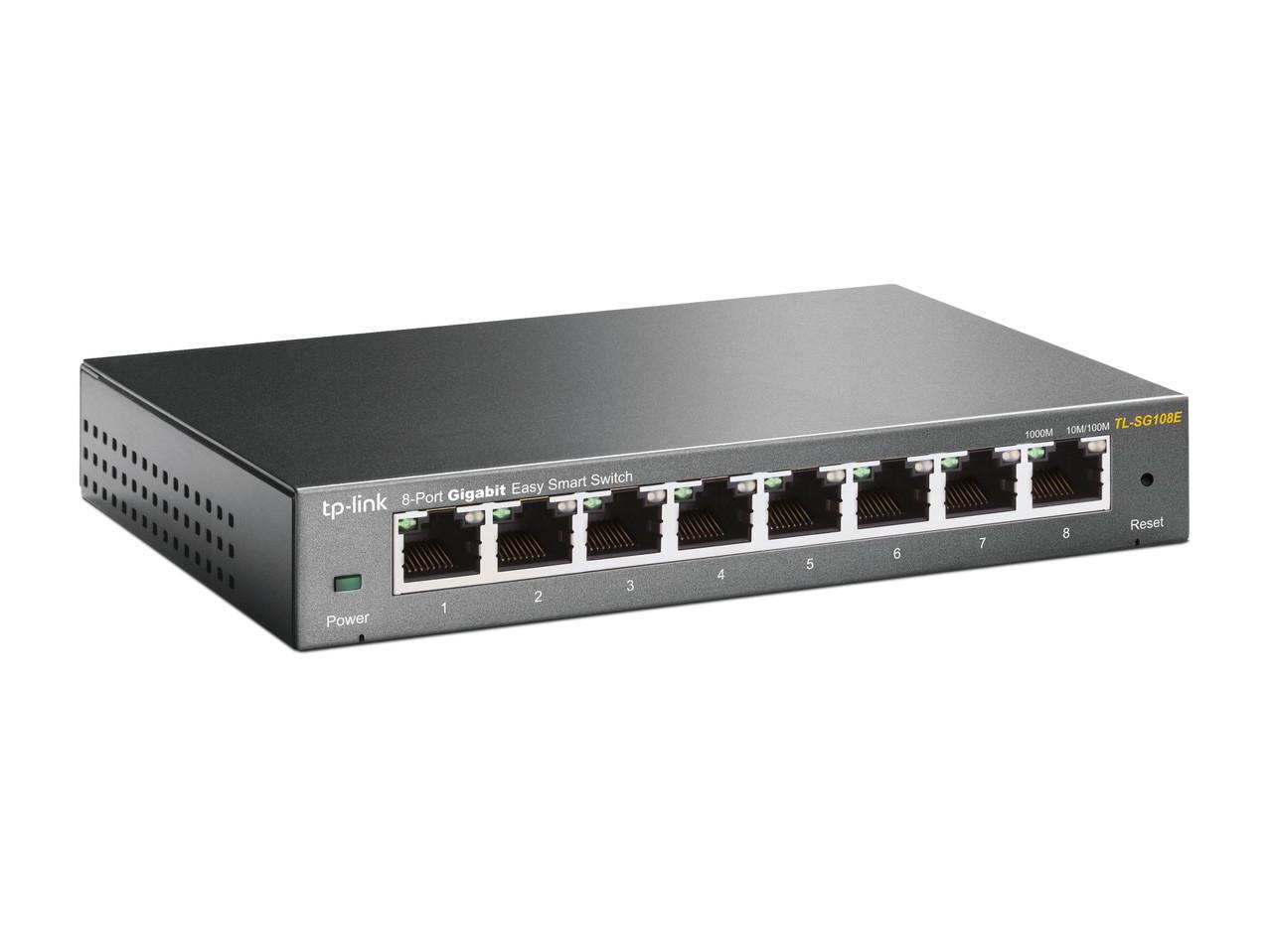 TP-LINK TL-SG108E Easy Smart гигабитный 8-портовый коммутатор