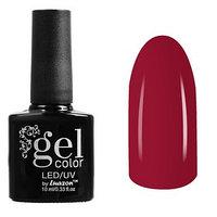 Гель-лак для ногтей трёхфазный LED/UV, 10мл, цвет В2-007 тёмно-красный