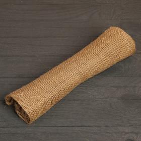Мешок джутовый, 45 x 65 см, плотность 420 г/м , с завязками - фото 4