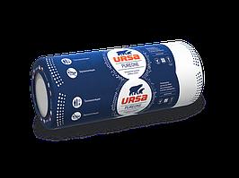 Стекловата URSA c фольгой. 21 кв. Минеральная тепло- и звукоизоляция на основе стекловолокна.
