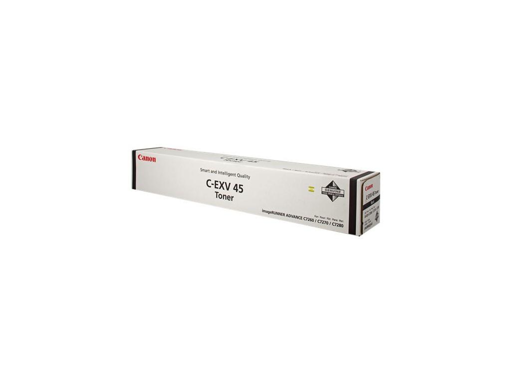 Тонер картридж Canon C-EXV45 (Оригинальный, Черный - Black) 6942B002