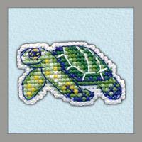 """Набор для вышивания крестом """"Значок. Черепаха"""""""