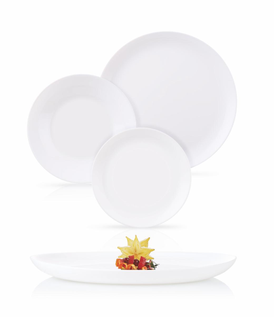 Столовый сервиз Luminarc Diwali White 19 предметов
