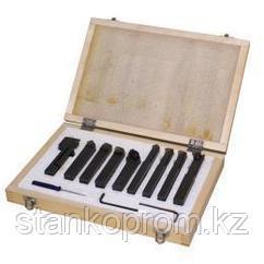 Резцы токарные 9TLG12 КОМПЛЕКТ из 9 шт, 12х12 мм