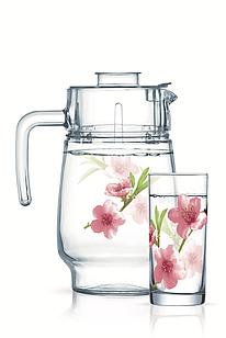 Набор для напитков Luminarc Water color (7пр.)