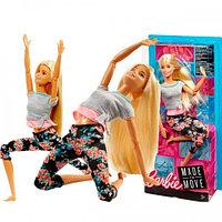 Кукла барби Barbie Безграничные движения 2019 FTG81